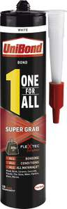 UniBond One For All Super Grab - 290g - £2 @ Wickes (Free click and collect)