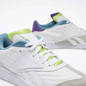 Reebok Womens Club C RC 1.0 Trainers | White / Purple / Grey £16.99 @ Footasylum (Free click and collect)