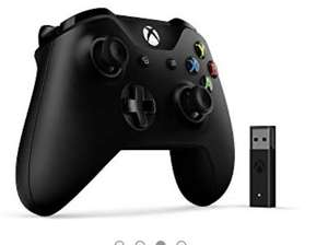 Microsoft PC Xbox Black Controller, with Wireless Adapter for Windows £45.04 at Amazon