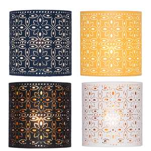 Alexia Laser Cylinder Lamp Shades - £5 Each Using Reserve & Collect @ Homebase