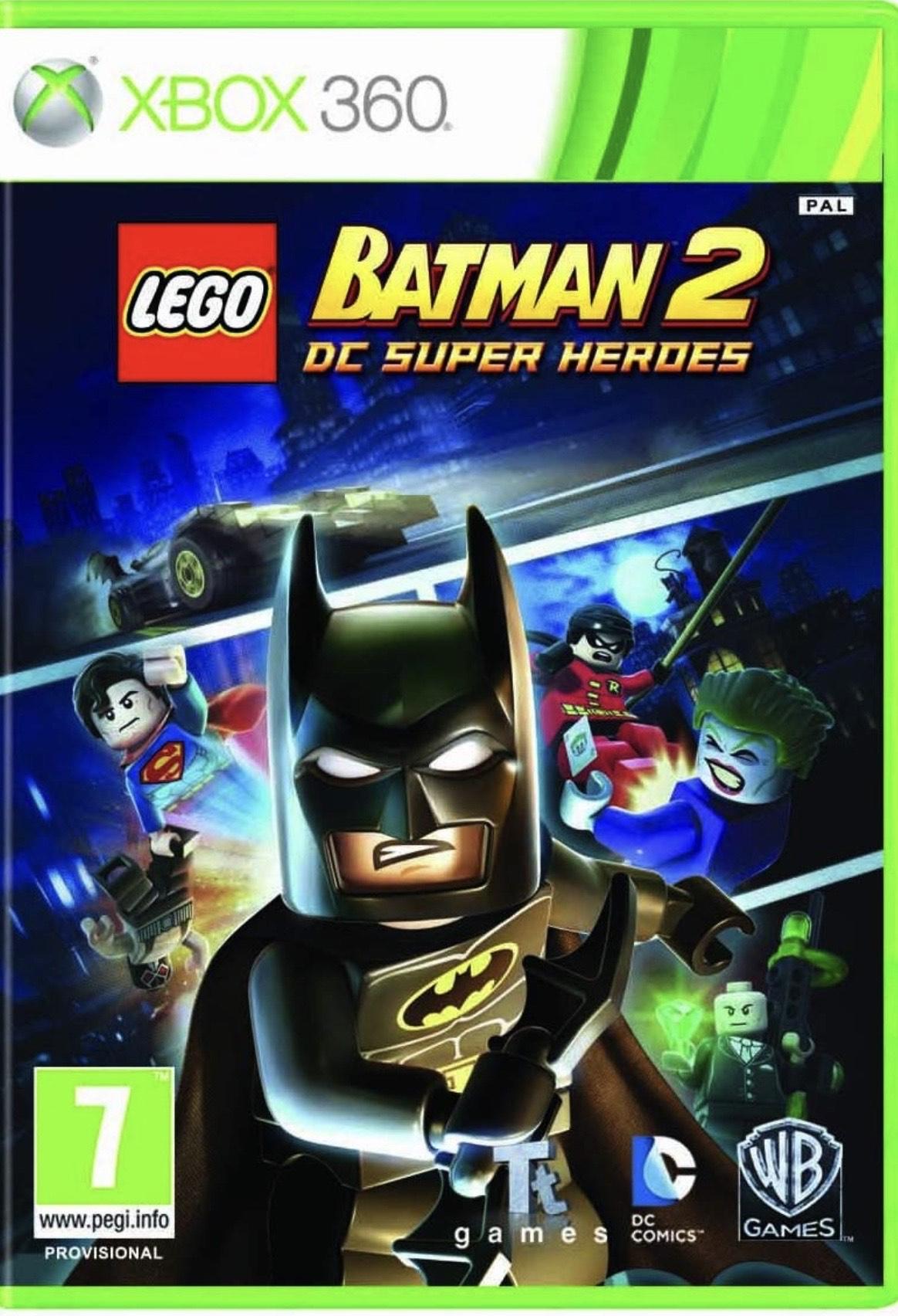 LEGO Batman 2: DC Super Heroes (Xbox 360/Xbox one) £1.87 @ Xbox.com Store
