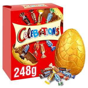Iceland 2 Large Easter Eggs For £5.00 Mars / Smarties / Yorkie /Galaxy / Rolo + Many More @ Iceland
