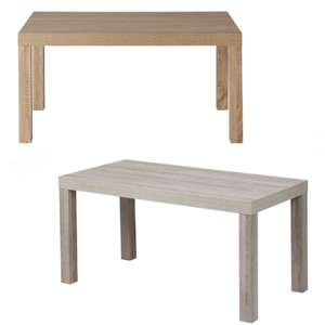 Montgomery Coffee Table - Oak or Grey Oak Colours - £12 Each - Reserve & Collect @ Homebase