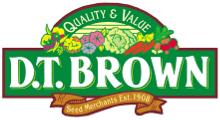 Free postage at DT Brownseeds