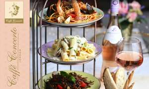 Three Italian Sharing Dishes For 2 People At Caffè Concerto 13 Locations £20.21 (£10.10 Per Person) With Code @ Groupon