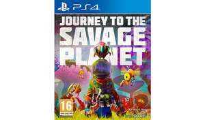 Journey to the Savage Planet PS4 Game £19.99 at Argos