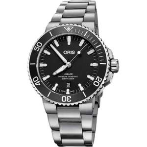 Men's Oris Aquis 43.5mm Automatic Diver's Watch - £1064 delivered @ Francis & Gaye