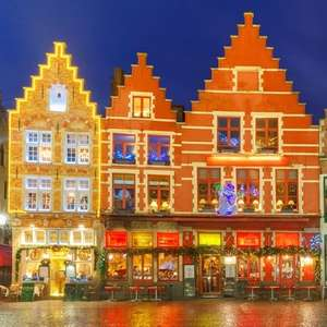 2 Night P&O Mini Cruise from Hull to Bruges + 1 Night 4* Stay in Bruges £63.20p/p (£126.40 total) @ Groupon (Using code)