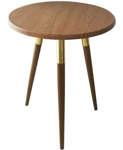 Berlin Side Table Wood Effect - £15 + Free Click and Collect (More in OP) @ Homebase