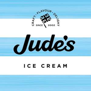 £1 off any big tub of Jude's Ice cream with voucher at Judes