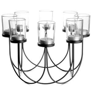 Maison & White 8 Tea-Light Candle Holder Black £8.99 @ Roov (Free Postage & Packaging)
