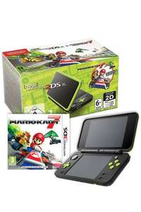 *New* Nintendo 2DS XL Black and Lime Green + Mario Kart 7 Pre-Installed £99.99 + Free Delivery with code @ Studio