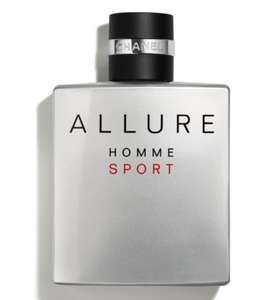 Chanel Allure Homme Sport EDT 100ml Spray | £62 Delivered (With Code) @ The Fragrance Shop