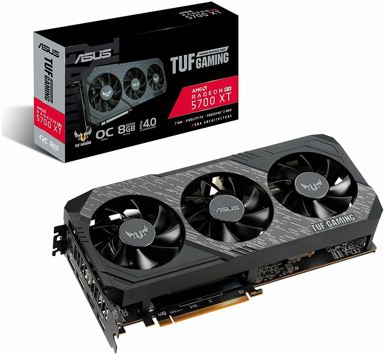 ASUS TUF Gaming X3 Radeon RX 5700 XT OC Edition 8 GB GDDR6 £319.96 delivered @ Amazon