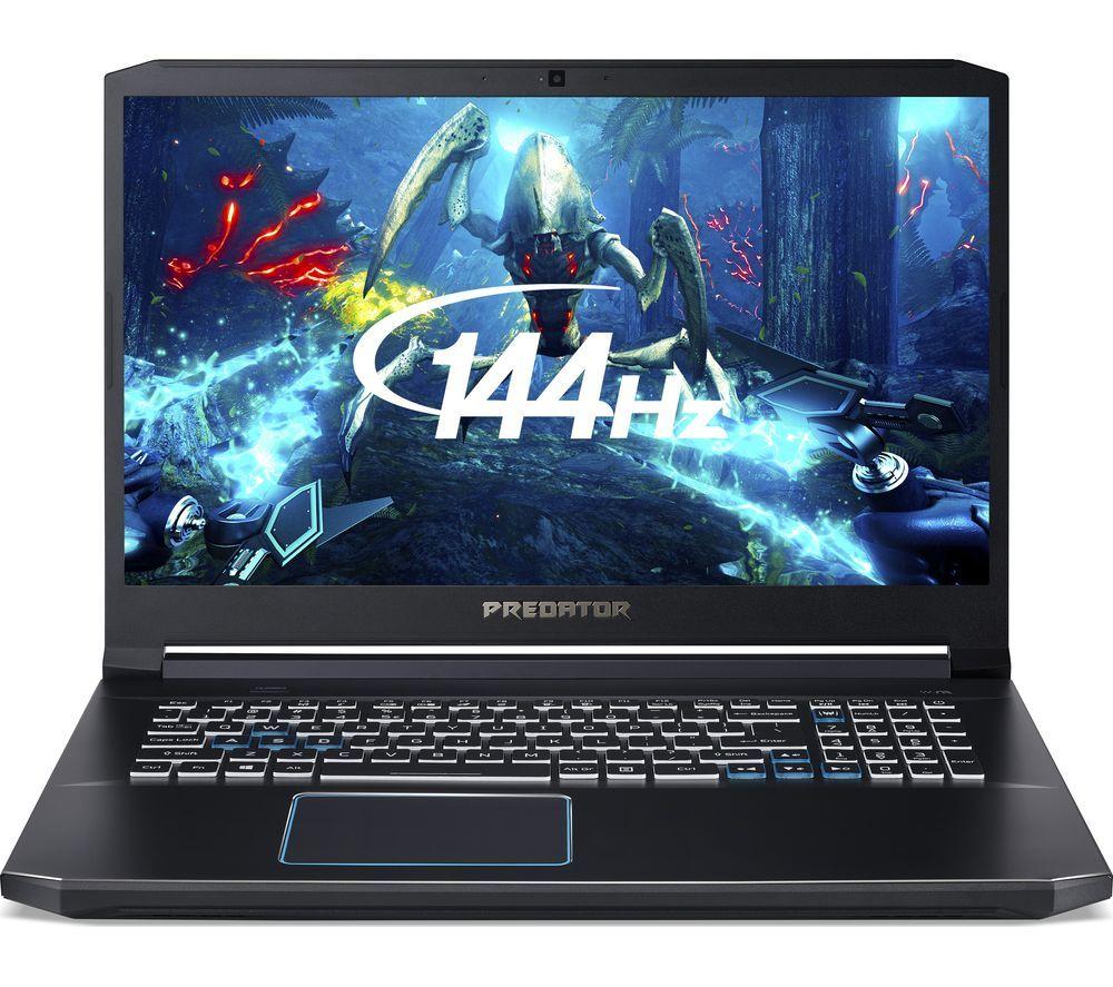 Acer Predator Helios 300 17 inch, i7, 1660ti, 8GB, 256 M2+1TB HDD - £1,099 @ Currys