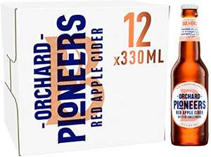 Bulmers Orchard Pioneers Red Apple Cider (12x330ml bottles) £4.99 instore @ Home Bargains in Poole
