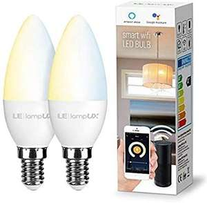 LE Wi-Fi twin pack smart candle bulbs E14 - £15.99 + £4.49 NP Sold by NEON Mart and Fulfilled by Amazon