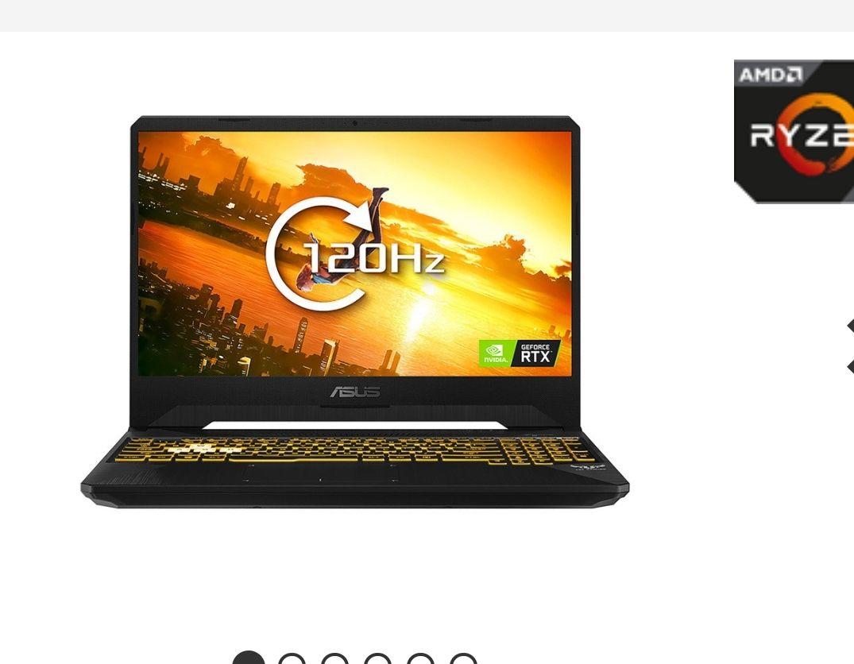 "ASUS TUF FX505DV 15.6"" Full HD 120Hz Ryzen 7, 16GB, 512GB SSD RTX-2060 Gaming Laptop - £1,099.98 @ Ebuyer"
