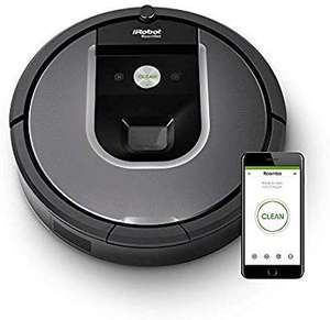 iRobot Roomba 960 Robot Vacuum Cleaner, WiFi Connected and Programmable via App, Silver Used Very Good £280.50 @ Amazon Warehouse