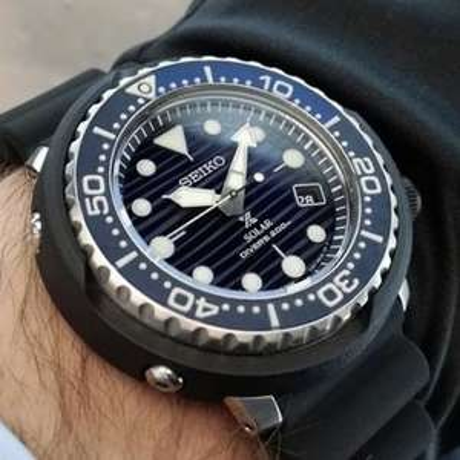 Seiko Prospex Save The Ocean Tuna Special Edition SOLAR Watch SNE518P1 £209 @ AMJ Watches