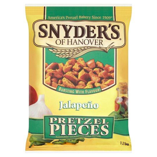 Snyders Jalapeno Pretzel Pieces 125G only £1 @ Tesco