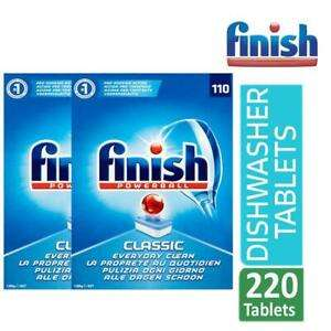 220 Finish Classic Dishwasher Tablets £17.59 @ eBay / official_brand_outlet