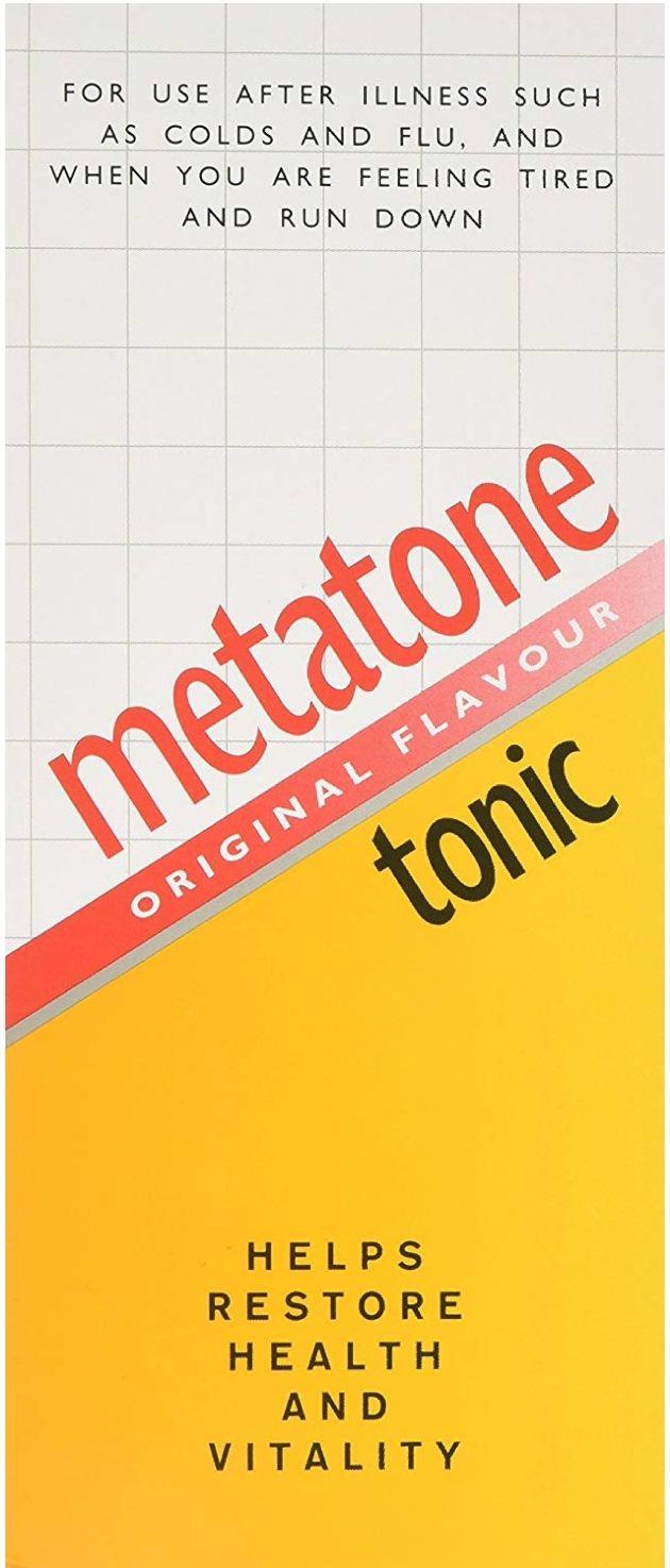 Metatone Tonic Original Flavour, 500ml £6.50 + £4.49 NP at Amazon