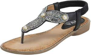 Sparkly sandals from £2.99 with next day Prime delivery