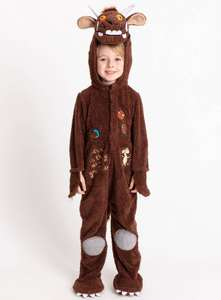 The Gruffalo Costume, Size's 1 year up until 8 years £16 (Click & Collect) @ Argos