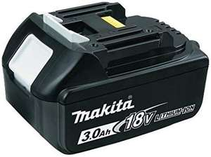 Makita BL1830 18V 3Ah LXT Li-ion Battery just £19.99 (Prime) @ Amazon or £20 NP with extra 1p purchase (see description)