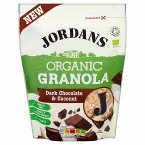 2 x Jordans Organic Granola Dark Chocolate & Coconut 400g bags - £1 @ Fulton Foods