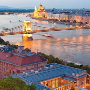 5 nights at Danubius Hotel, Budapest, 23/2 - 28/02 + Flights Luton to Budapest now £208.69 (£105pp) inc taxes/cabin bags at Expedia