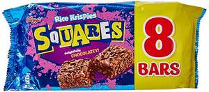 Kelloggs Squares - Chocolatey 8 Pack. £1 in-store at OneBelow