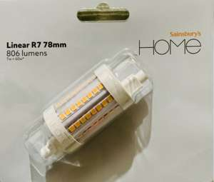 SAINSBURYS LINEAR R7 78MM in store only 75p instore @ Sainsbury's Fulham Wharf