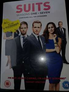 SUITS Season 1 -7 DVD instore @ TK Maxx Shrewsbury