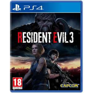 Resident Evil 3 Pre-Order £37.95 (PS4 & XB1) @ The Game Collection