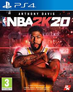 NBA 2K20 PS4 £21.99 @ Game (Free Delivery!)