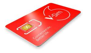 Vodafone 30GB Sim Only - Includes 5G, Unlimited minutes and Texts - £20pm for 12m (£156 cashback making it £7pm) £240 @ Fonehouse