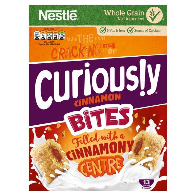 Curiously Cinnamon Bites £1 Heron Foods in store