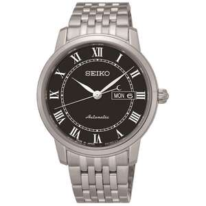 SEIKO Men's Stainless Steel Presage Automatic Watch SRP765J1 £179 @ Hillier Jewellers