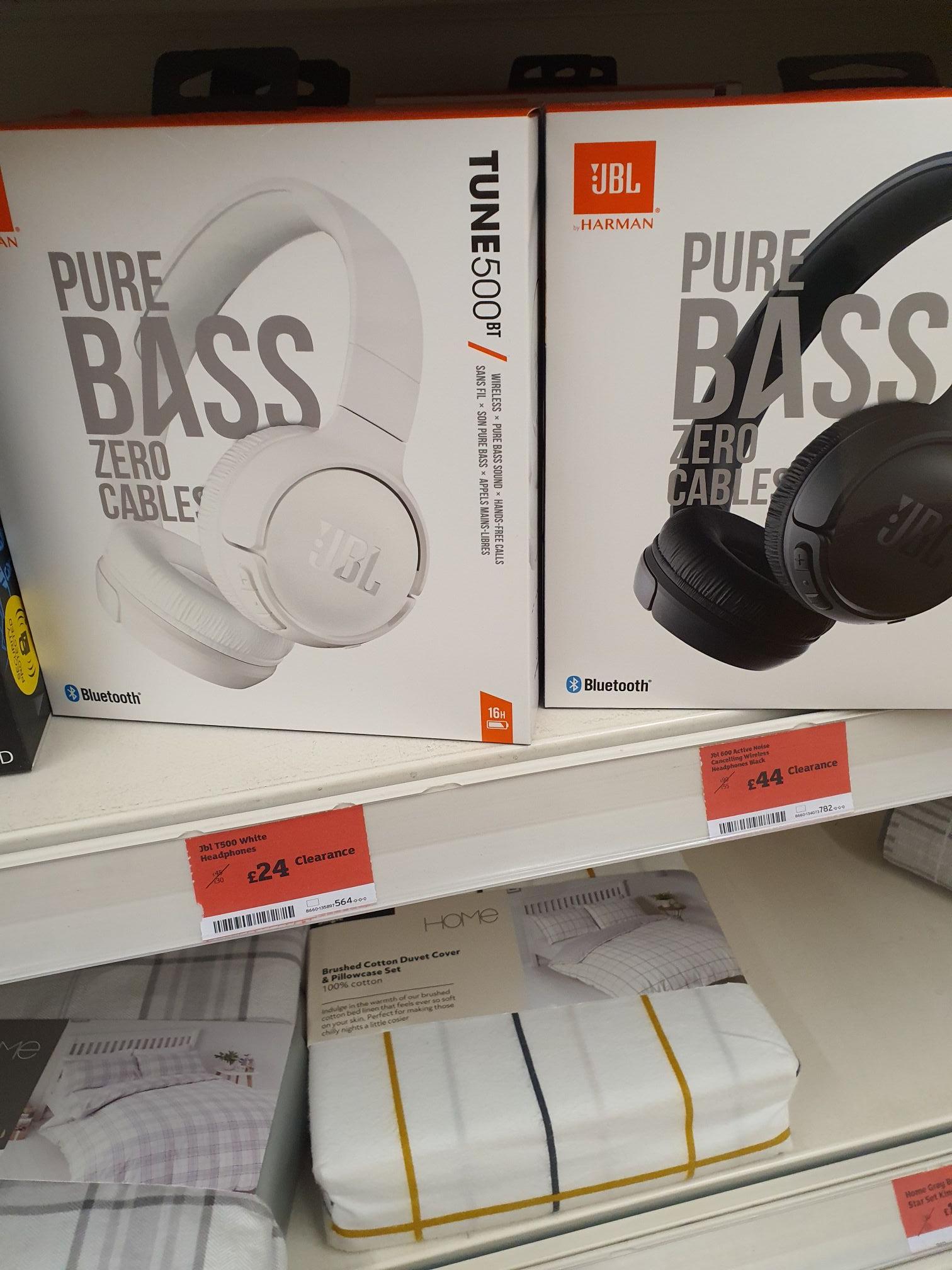 JBL Tune 500bt bluetooth headset £24 @ Sainsbury Oadby Leicestershire