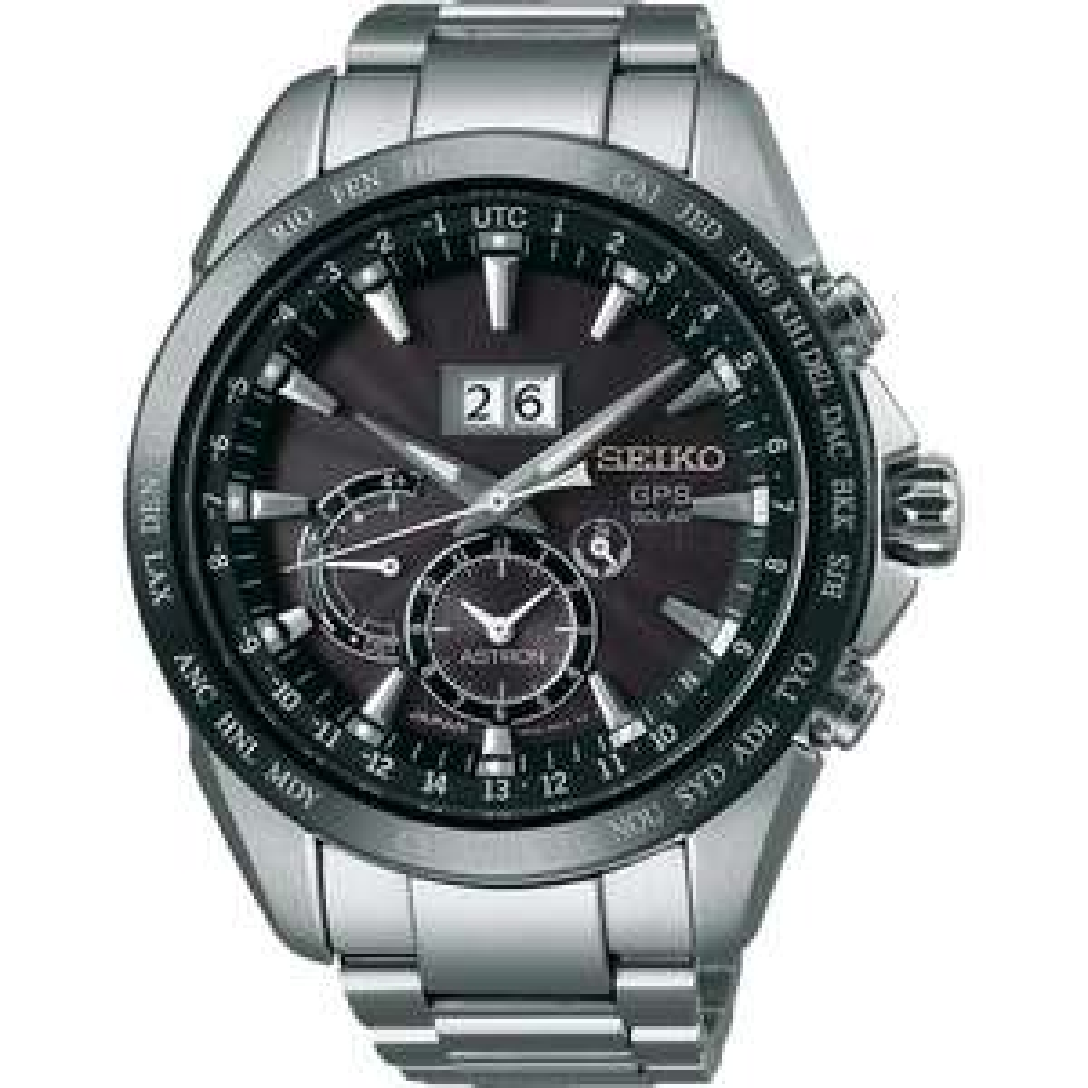 Seiko Men's Astron GPS Solar Big Date Watch SSE149J1 £895 @ Hillier Jewellers