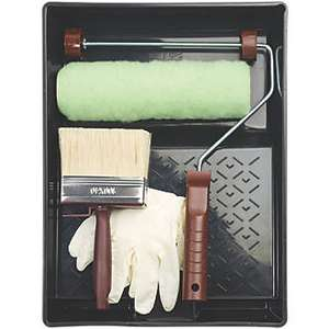 No Nonsense Timbercare Painting Set 5 Pieces - £3.49 @ Screwfix (Free Click & Collect)