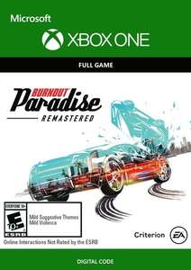 Burnout Paradise Remastered Xbox One £4.99 @ CDKeys