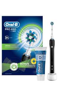 Oral-B 650 electric tooth brush - £10 Instore @ LIDL (Nottingham)