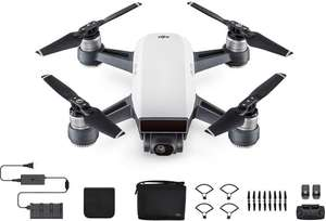 DJI Spark Drone Fly More Combo Alpine White - £289.97 - Instore @ Currys (Sydenham)