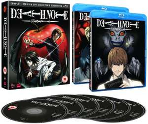 Death Note Blu-Ray collection with OVA's - £23.79 @ Base