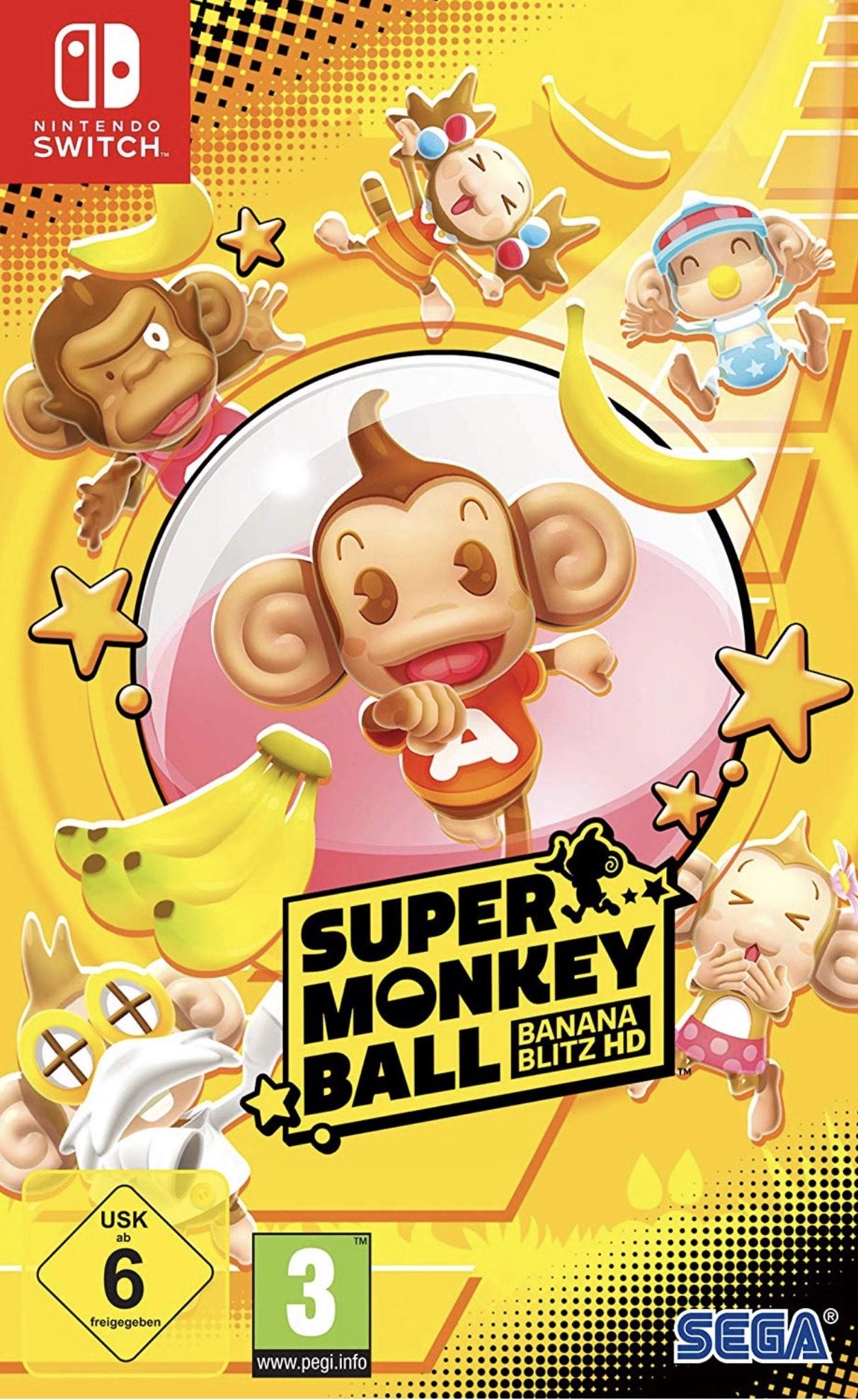 Super Monkey Ball Banana Blitz HD (Nintendo Switch) - £23.70 @ The Game Collection