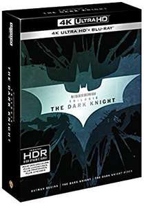 The Dark Knight Trilogy 4K (9 Discs) £28.83 Delivered @ Amazon France