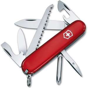 Victorinox Hiker Swiss Army Knife - Red £15.70 (+ £4.49 Non Prime) @ Amazon